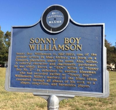 Sonny Boy Williamson Marker (Front) image. Click for full size.