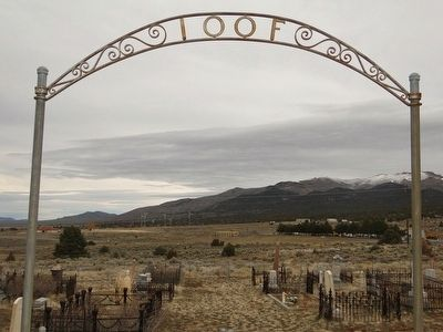 Odd Fellows/ Masonic Cemetery image. Click for full size.