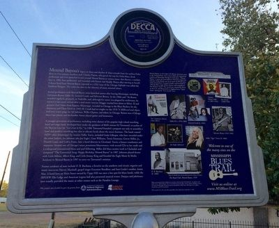 Mound Bayou Blues Marker (Rear) image. Click for full size.