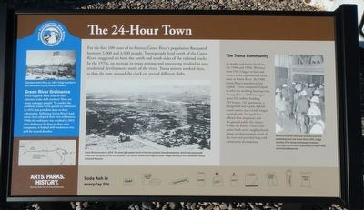 The 24-Hour Town Marker image. Click for full size.