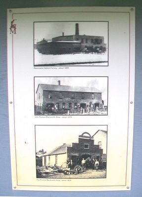 Crescent Street Factories, Mazomanie Blacksmiths, Coal Buildings Marker Photos image. Click for full size.