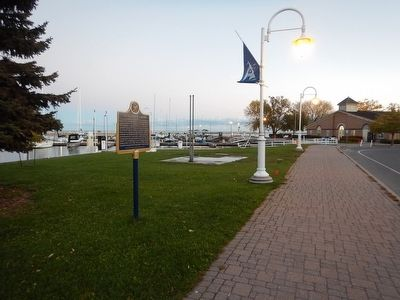 Wideview of The Founding of Cobourg Marker image. Click for full size.