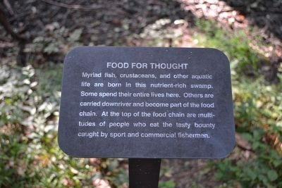 Food for Thought Interpretive Sign image. Click for full size.
