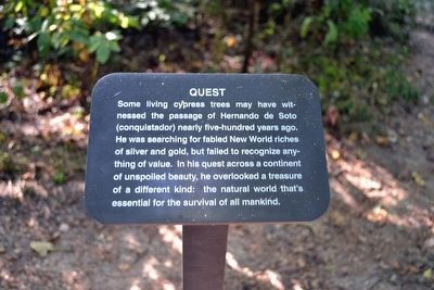 Quest Interpretive Sign image. Click for full size.