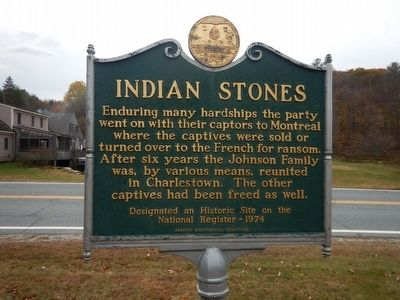 Indian Stones Marker image. Click for full size.