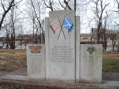 Scottish American Monument image. Click for full size.