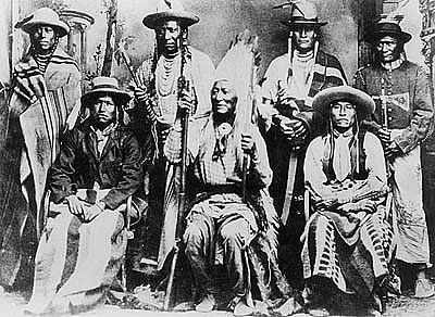 Chief Washakie (center) image. Click for full size.