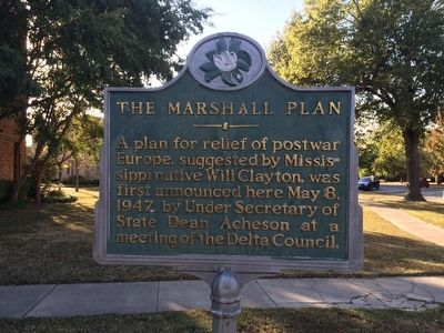 The Marshall Plan Marker image. Click for full size.