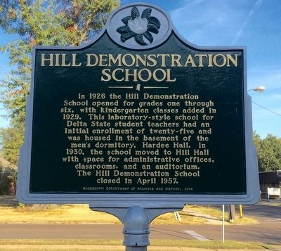Hill Demonstration School Marker image. Click for full size.