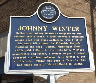 Johnny Winter Marker image. Click for full size.