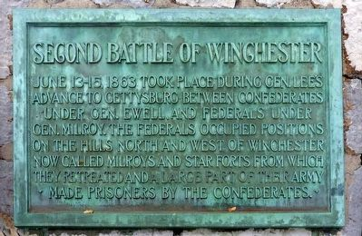 Second Battle of Winchester image. Click for full size.