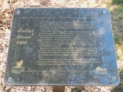 Julius Stone Marker image. Click for full size.