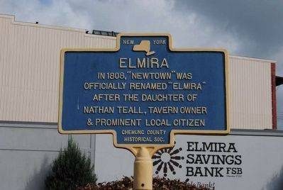 Elmira Marker image. Click for full size.