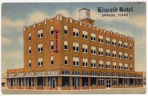 Kincaid Hotel Linen Postcard image. Click for full size.