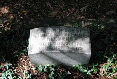 Langdon Clemens Tombstone image. Click for full size.