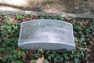 Susan Langdon Crane Tombstone<br>Feb. 18, 1836<br>Aug. 29, 1924 image. Click for full size.