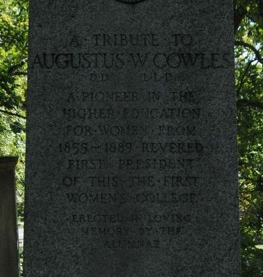 Augustus W. Cowles Monument image. Click for full size.