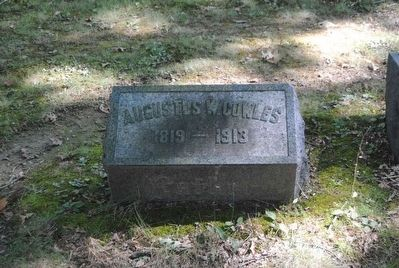 Augustus W. Cowles Tombstone image. Click for full size.