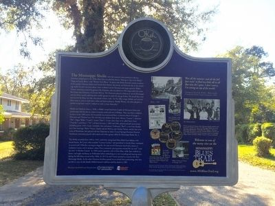 The Chatmon Family - Mississippi Sheiks Marker (Rear) image. Click for full size.