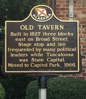Old Tavern Marker image. Click for full size.