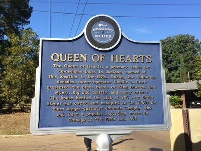 Queen of Hearts Marker (Front) image. Click for full size.