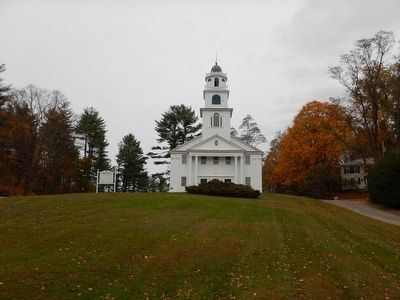 Park Hill Meeting House in Westmoreland (NH) image. Click for full size.