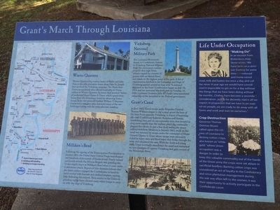 Area near Grant's Canal and interpretive marker. image. Click for full size.