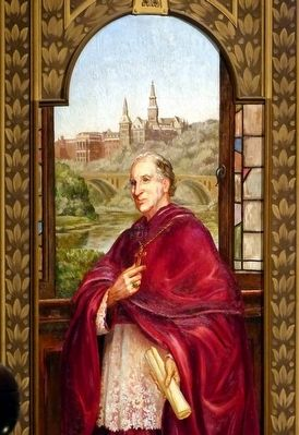 Archibishop John Carroll image. Click for full size.
