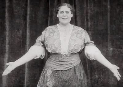 Marie Dressler in the Opening Scene of <i>Tillie&#39;s Punctured Romance</i> image. Click for full size.