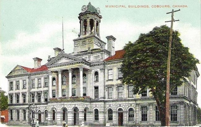 <i>Municipal Buildings, Cobourg, Ont.</i> image. Click for full size.