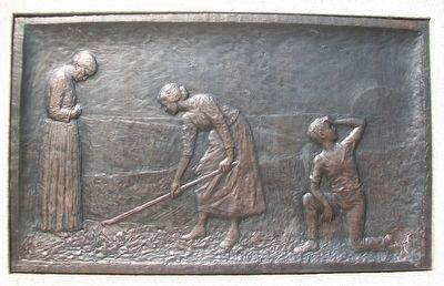 "Civil War Memorial Bas Relief ""Reconstruction"" image. Click for full size."