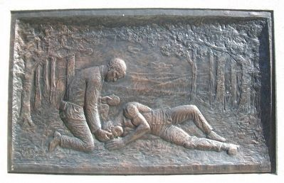 "Civil War Memorial Bas Relief ""Death"" image. Click for full size."