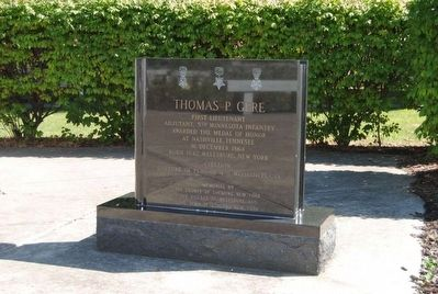 Medal of Honor Monument<br>Thomas P. Gere image. Click for full size.
