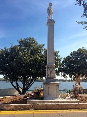 Chicot County Confederate Monument (Front -West Side) image. Click for full size.