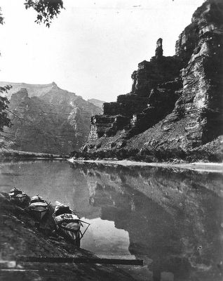 Green River Canyon, the Canyon of Desolation image. Click for full size.