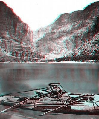 The boats in the Grand Canyon image. Click for full size.