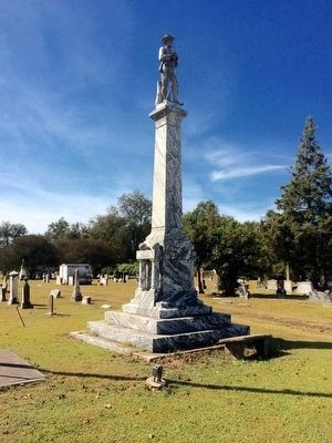 Lake Providence Confederate Monument (Rear) image. Click for full size.