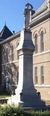 Tallahatchie County Confederate Monument image. Click for full size.