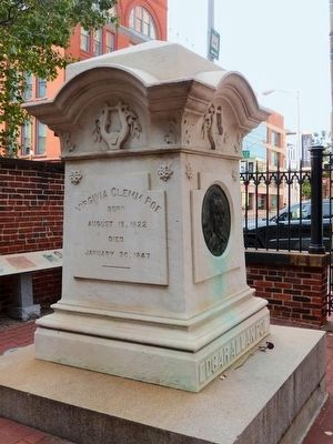Poe's Grave - Westminster Burying Ground, Baltimore image. Click for full size.