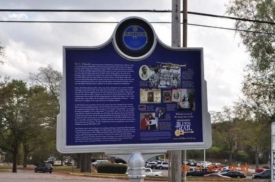 W. C. Handy Birthplace Marker (side 2) image. Click for full size.