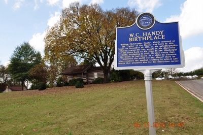 W. C. Handy Birthplace Marker image. Click for full size.