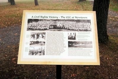 A Civil Rights Victory Marker image. Click for full size.