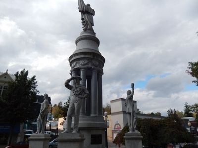 Bradford County Soldiers & Sailors Monument image. Click for full size.