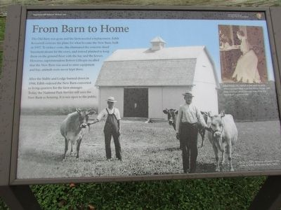 From Barn to Home Marker image. Click for full size.