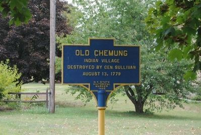 Old Chemung Marker image. Click for full size.
