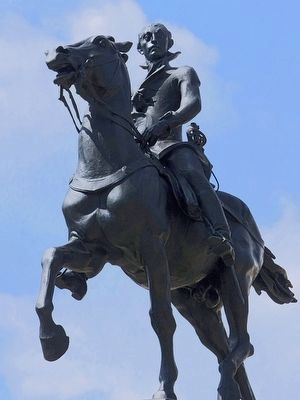 Lafayette Statue image. Click for full size.