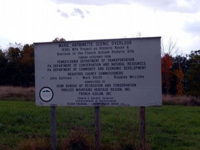 Sign at the entrance to the Overlook image. Click for full size.