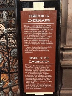 Temple of the Congregation Marker image. Click for full size.