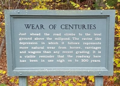 Wear Of Centuries Marker image. Click for full size.