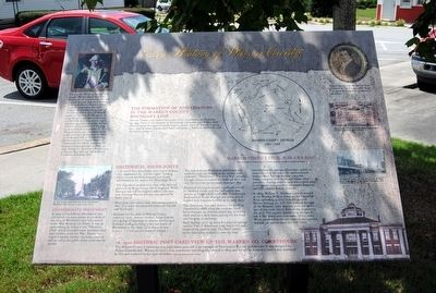 Early History of Warren County Marker image. Click for full size.